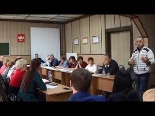 Выступление Председателя Совета Депутатов МО