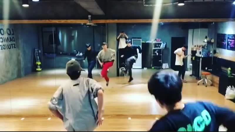 [SNS] [190116] Обновление инстаграма Ли Дабина (танцор и хореограф команды Look)
