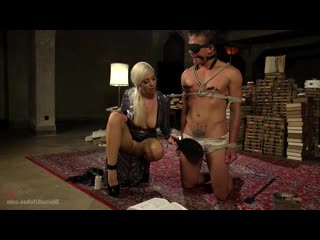 Lorelei Lee снова унижает Jock Fuckboy (бдсм, фемдом, доминирование, страпон, ошейник, раб)