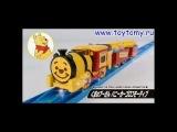 Поезд №80 Винни пух - TOMICA & Disney Dream Railway Winnie the Pooh