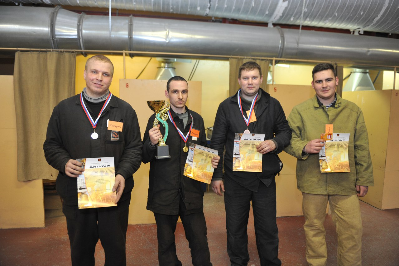 На ТАГМЕТе лучшим электрогазосварщиком стал Дмитрий Плещенко из энергетического цеха