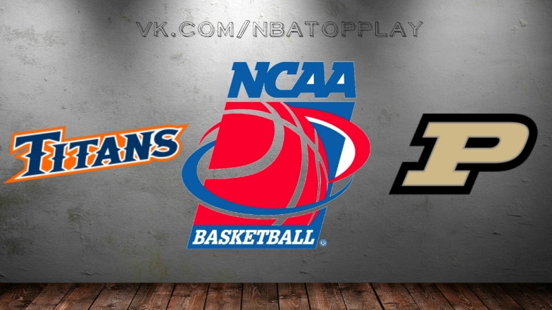 CS Fullerton Titans vs Purdue Boilermakers 16 03 2018 1st Round NCAAM March Madness 2018 Виасат Viasat Sport HD RU