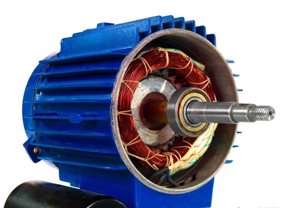 Магнитная проволока используется в электродвигателях.