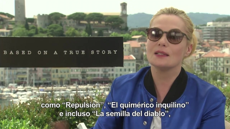 Basada en hechos reales Entrevista Emmanuelle Seigner Part 2 Based on a True Story