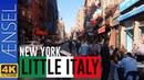 Walking in Little Italy - New York【4K】