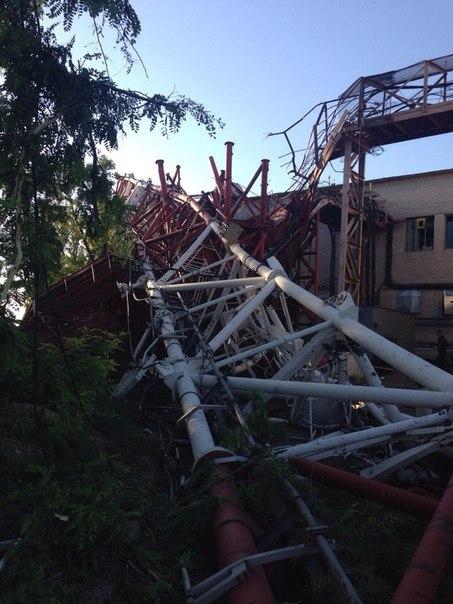 Сегодня утром на двух участках Донецкой железной дороги произошло четыре взрыва - Цензор.НЕТ 3128