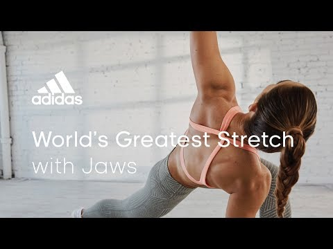The World's Greatest Stretch with Jaws   adidas women workouts