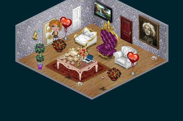 Красивые дизайны комнат в аватарии