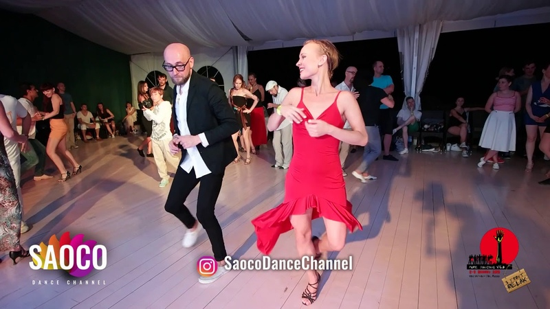 Marco Ivanyk and Viktoria Klimenko Salsa Dancing in Malibu at The Third Front 2018, Sat 04.08.2018