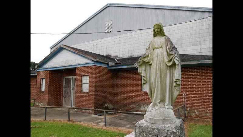UNTOUCHED Abandoned St. Mary's Catholic School with Amazing Statues