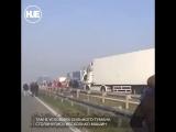 В Сербии произошло крупное ДТП