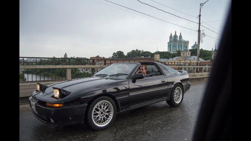 Тойота Супра Тарга! Спорт-кар из 90-х!