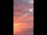 Закат, Азовское море.
