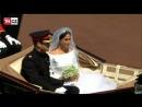 Princ Harry a Meghan u jsou manželé Projeli Windsor kočárem pak zamířili na velkolepou hostinu EsEcKo