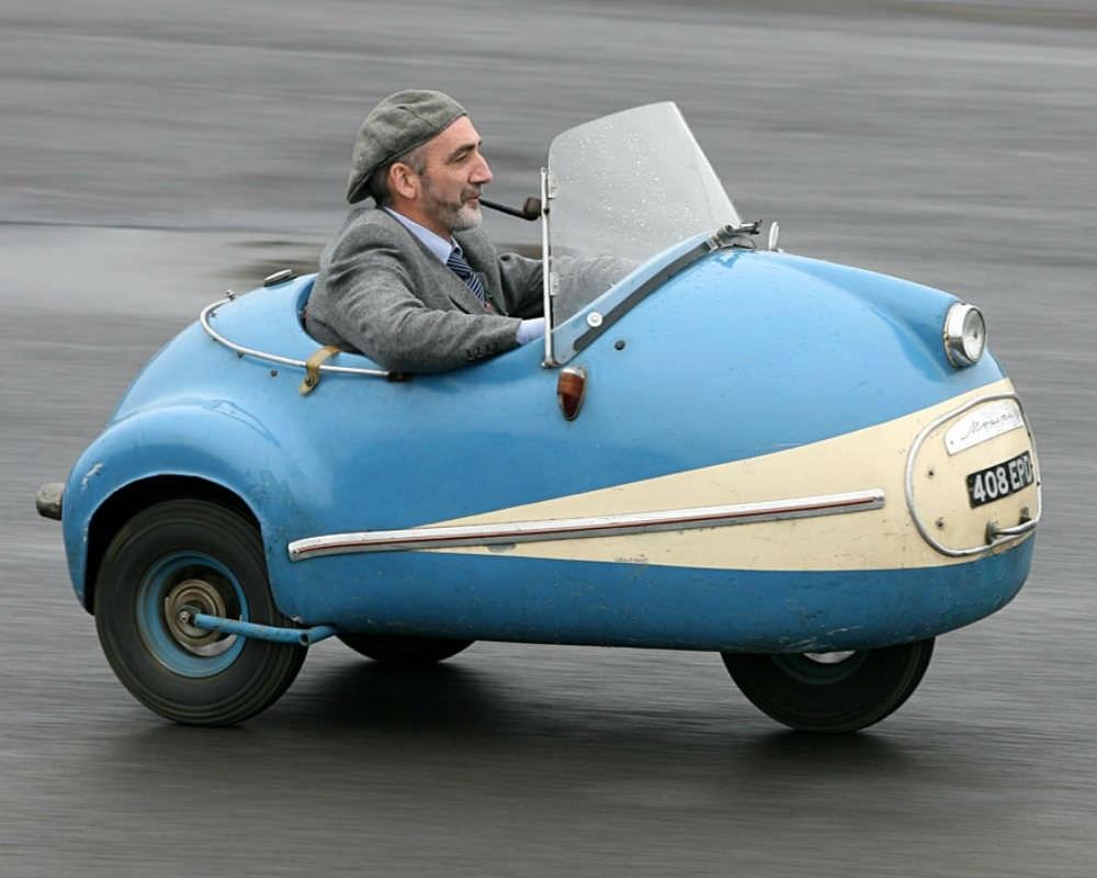 Brutsch Mopetta - редкий и необычный трицикл