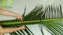 Hướng dẫn đan cọng lá dừa bằng 2 cách đơn giản nhất-CLB thắt lá dừa Bến Tre