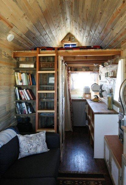 Маленький домик 11 кв.м. со всем необходимым для жизни… (7 фото) - картинка