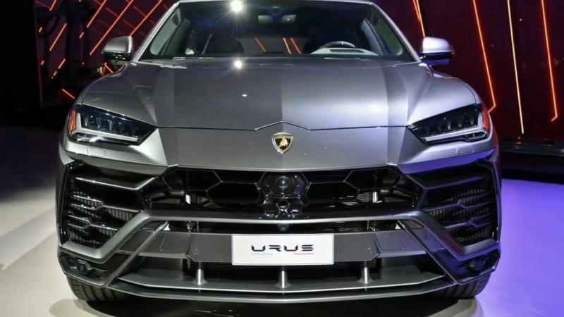 "Lamborghini Urus ""super SUVs"" is the brand's best selling model"