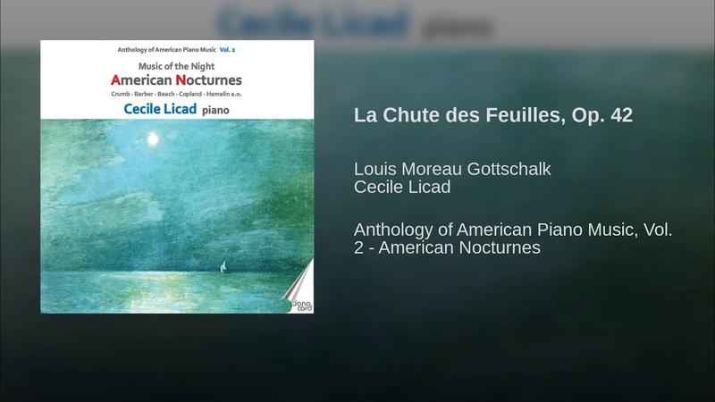 La Chute des Feuilles, Op. 42