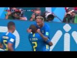 ЧМ-2018: БРАЗИЛИЯ - КОСТА-РИКА! 2:0! ЛУЧШИЕ МОМЕНТЫ