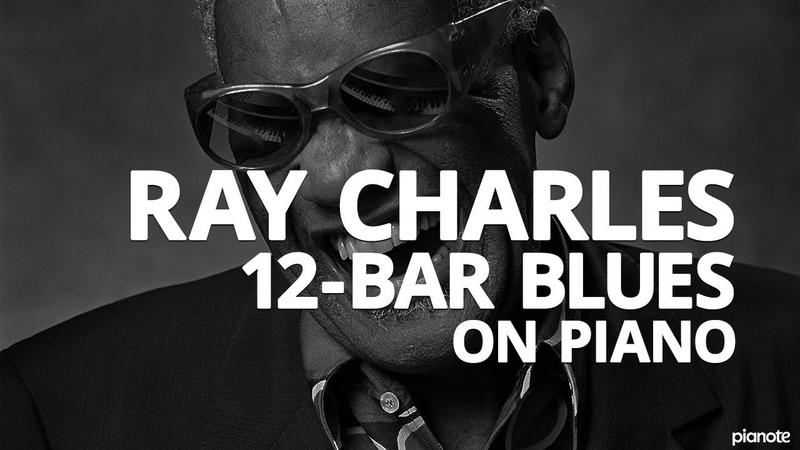 The Ray Charles 12 Bar Blues Piano Lick Piano Lesson Pianote