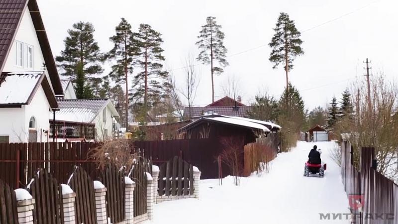 Зимний сезон с садовым трактором Митракс Т10.