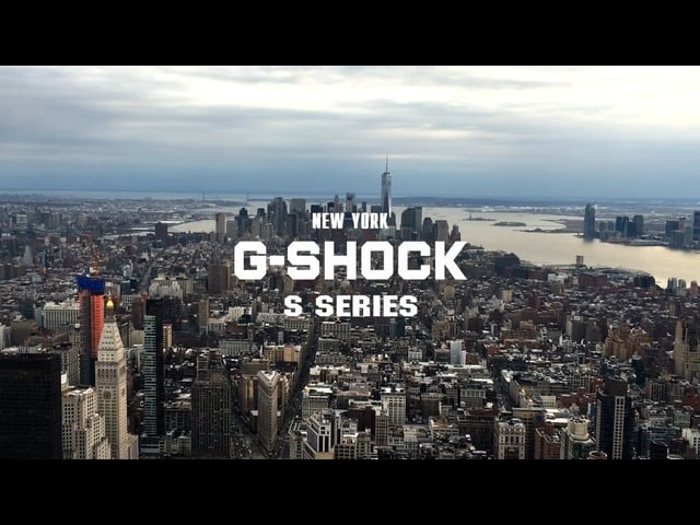 G-SHOCK S Series in NYC w/ Rita Olya