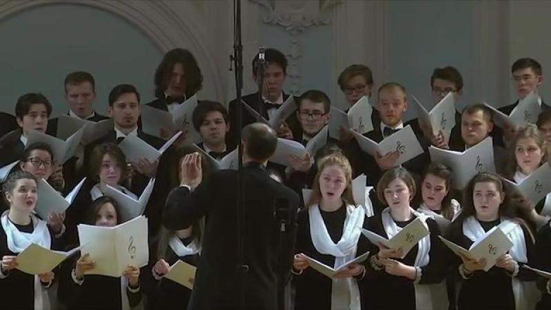 Хор Академии на Московском Великопостном хоровом фестивале