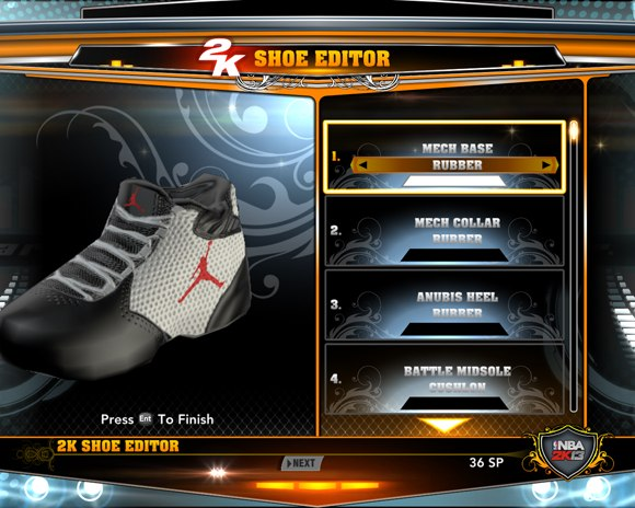 MY SHOES IN NBA2K13