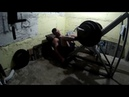 Жим ногами 200 кг на 20 повторений 7 подход.