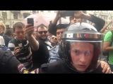 Митинг на Тверской. Избиение, задержания, лозунги.