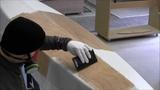 Bau eines Holzkajaks. Lektion 13 Den Rumpf mit Glasgewebe verst