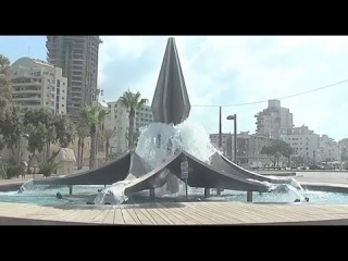 Netanya : City landmark reopens with a splash