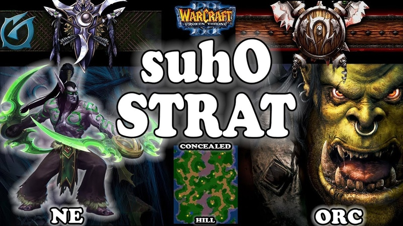 Grubby   Warcraft 3 TFT   1.30   NE v ORC on Concealed Hill - Suho Strat