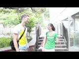 Японская студентка. Интервью.