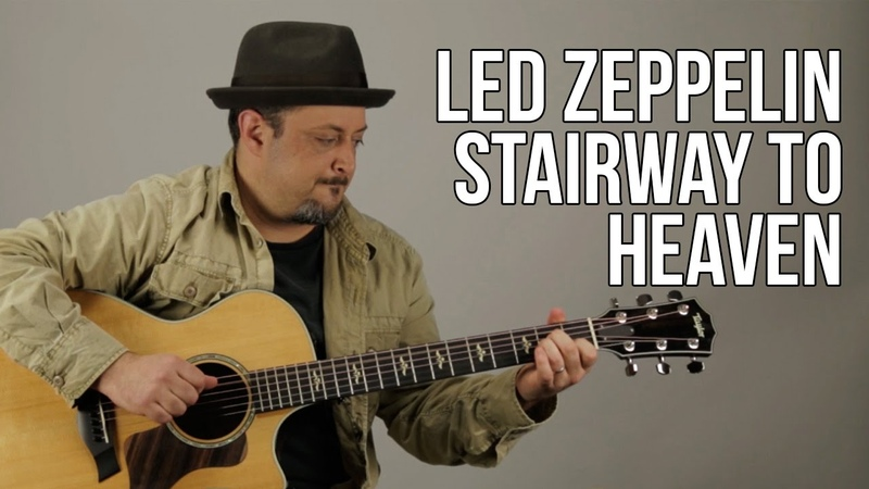 How To Play Stairway To Heaven Part 1 Guitar Lesson Led Zeppelin Jimmy Page
