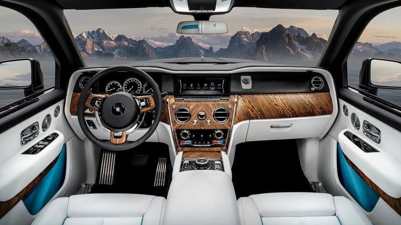2019 Rolls Royce Cullinan - INTERIOR