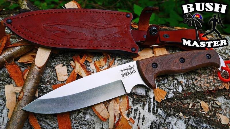 Нож Shark от Кизляр Суприм (Shark knife from Kizlyar Supreme)