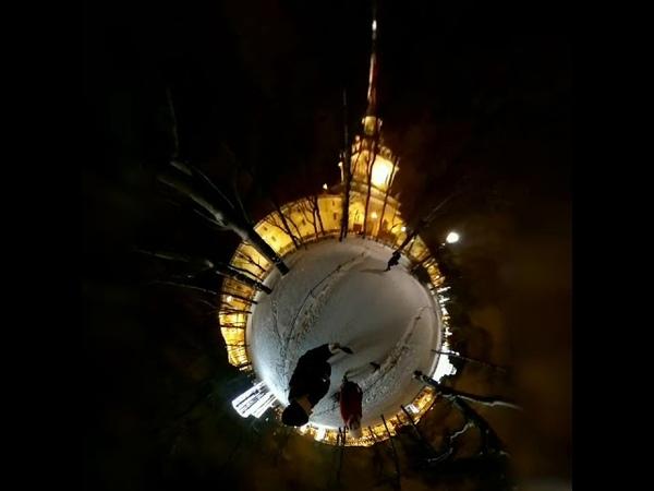 Tinyplanet, 360Piter, Music:Рина Штемпель - Гравитация