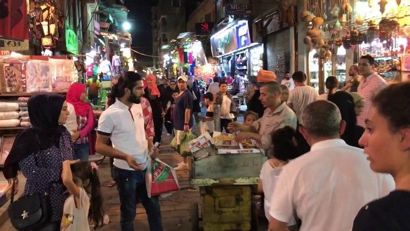 Egypt - Cairo - Сцены из Каира - экскурсия по Хан-эль-Халили