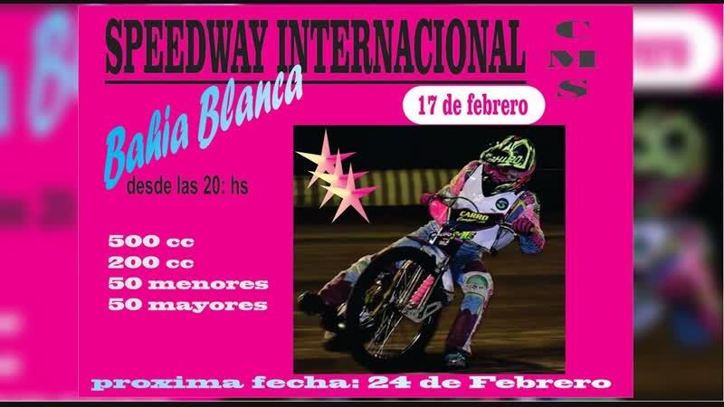 18.02.2019 Campeonato Internacional de Speedway. 7° fecha Bahia Blanca (A LAS CHAPAS ).mp4