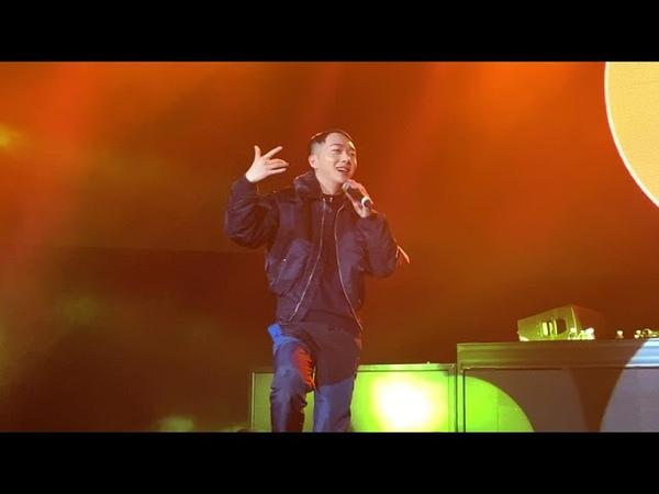 190120 우원재 ph-1 ft. Woo - hate you (4K 60 FPS FANCAM) [ABOVEORDINARY TOUR TORONTO TOUR 2019]