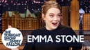 Emma Stone Takes Buzzfeed's Which Spice Girl Are You? Quiz