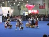 Евразия 2014: Веселые пастушки и молочник. Выступление с собаками