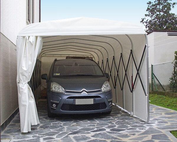 Преимущества каркасно-тентовых гаражей для дачи. Функциональное и практичное решение для хранения автотранспорта, техники и другого инвентаря представляет собой каркасно-тентовый дачный гараж.