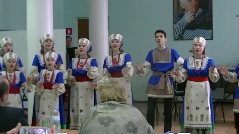 Выступление на Международном конкурсе Славься,Отечество лауреаты II степени