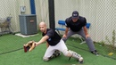 UMPIRE BOMB = POSITIONING WITH YOUR CATCHER