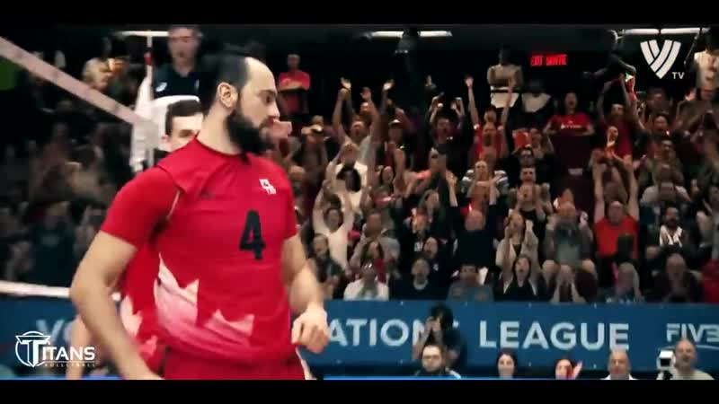 TOP 10 Crazy Actions by NICHOLAS HOAG VNL 2018. Volleyball Canada.