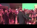 Роберт Дауни младшей в последний съемочный день Мстители