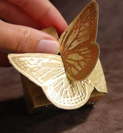 Коробочка своими руками для бабочки 172